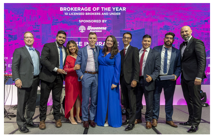 Brokerage of the Year - KASE Insurance Toronto