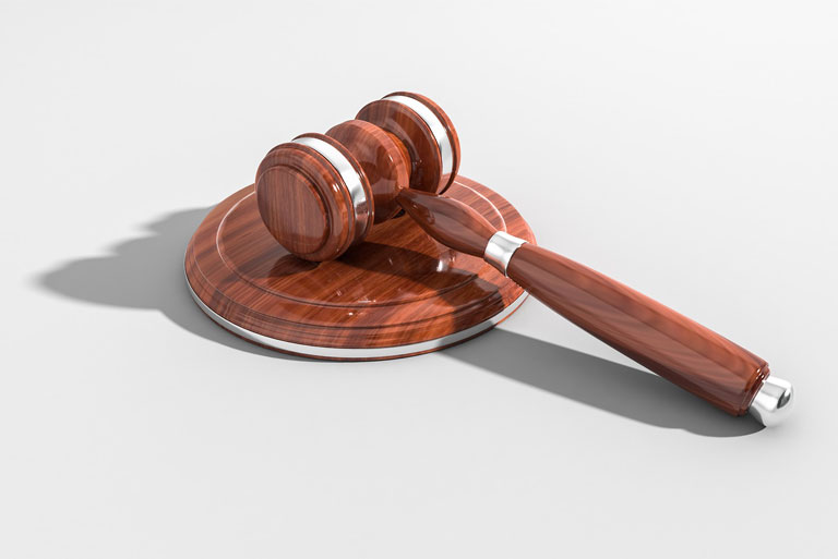Close up of gavel for legal expenses insurance toronto