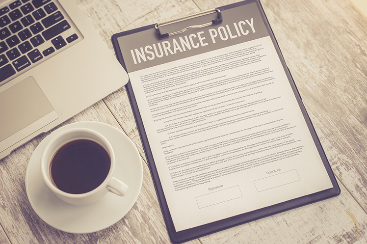 An insurance policy example